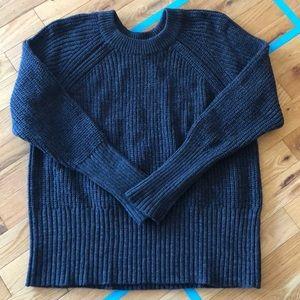 Universal Thread chunky knit grey sweater